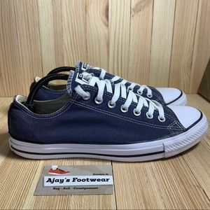 Converse Ct As Spec Ox Men's Blue Canvas Shoes